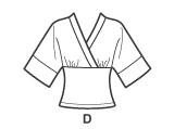 Simplicity 4020 Kimono Top